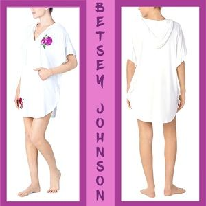 Betsey Johnson Beauty and the Beach Embroidered